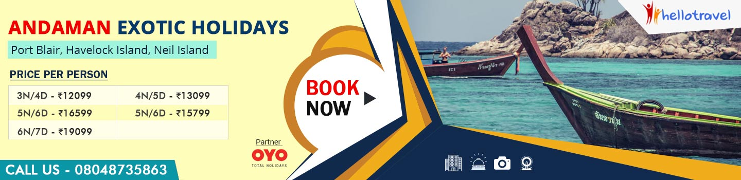 HelloTravel: Book Tour Packages | Holiday Packages & Travel Planning