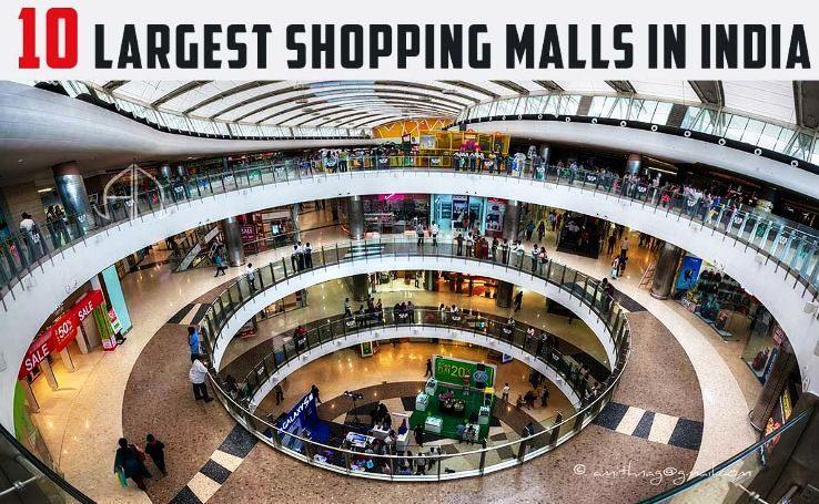 10 Largest Shopping Malls in India - Hello Travel Buzz