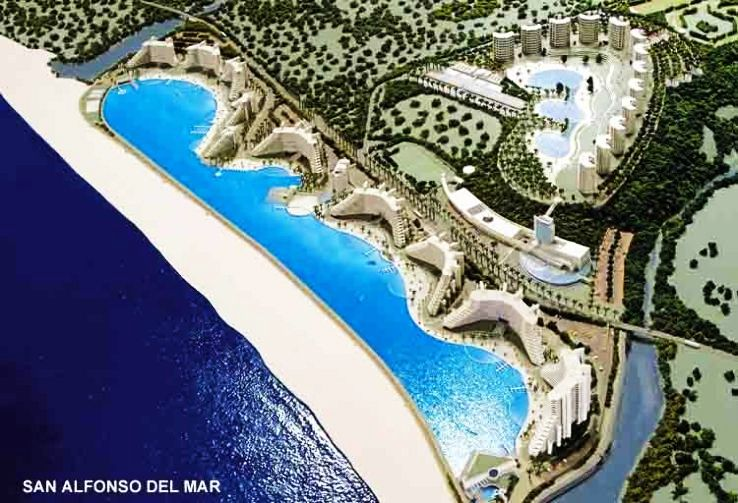 San Alfonso Del Mar Resort >> World S Largest Pool It S Probably Bigger Than You D