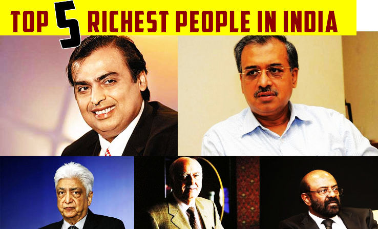 Top 5 Richest People In India - Hello Travel Buzz