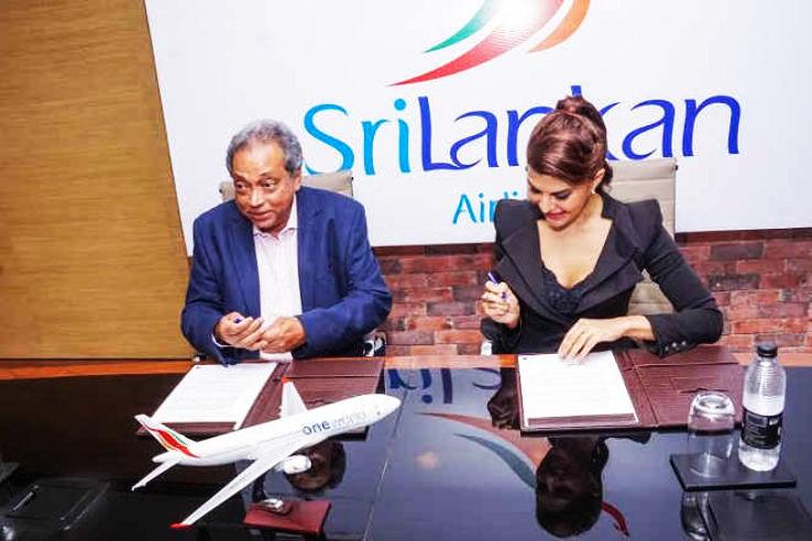 b1e5c078e05 Jacqueline Fernandez Signs Up for SriLankan Airlines  New Brand Ambassador